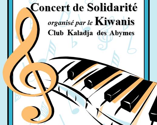 Affiche du concet solidarité