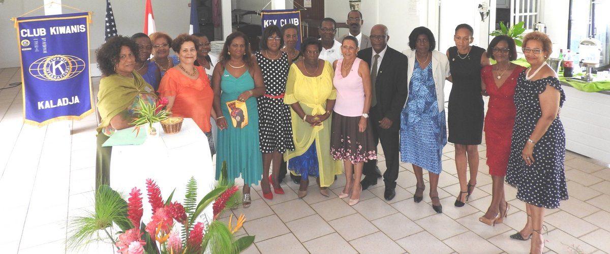 Membres du club Kiwanis Kaladja